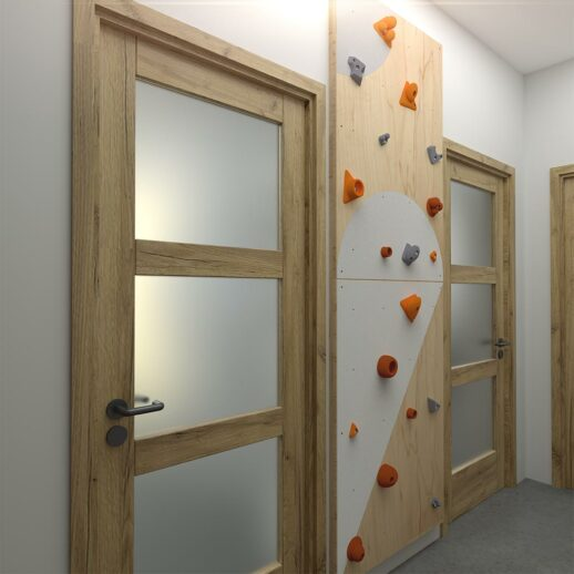 Climbing wall for children BLOCKids 2 hall