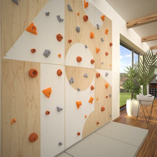 Climbing wall for children BLOCKids 6 living room