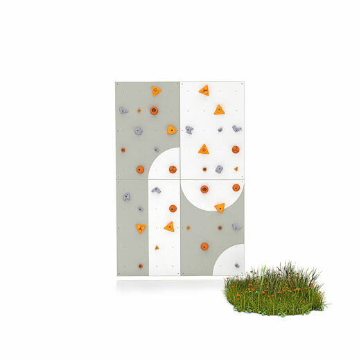 Climbing wall for children BLOCKids 4 outdoor