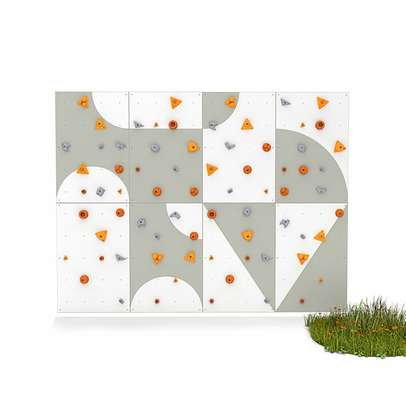 Climbing wall for children BLOCKids 8 outdoor